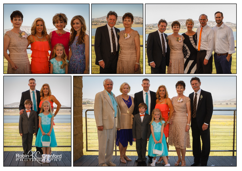 The formal group shots.  Weddings are such a great opportunity for family portraits.